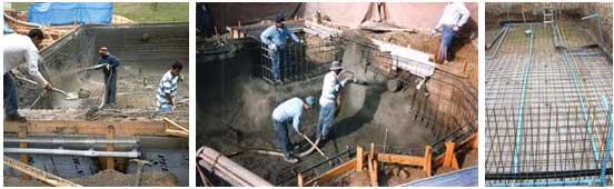 Pool Construction Swimming Pool Civil Construction Contracts Swimming Pool Water Treatment
